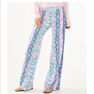 Lily Pulitzer NWT Bal Harbour Palazzo Pants
